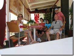 con Antonio y sus hijos