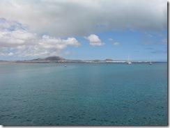 Prati fondeado delante de Fuerteventura