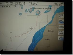 Trac hacia Cabo Verde 2