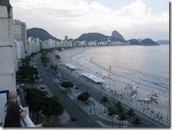 Copacabana desde el hotel