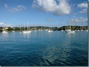 20110103 08'51 Prickly Bay