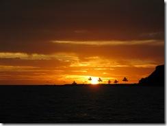 17 atardecer en Abrolhos