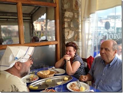 06 Puerto de Vega, tripeando con Fatima y George