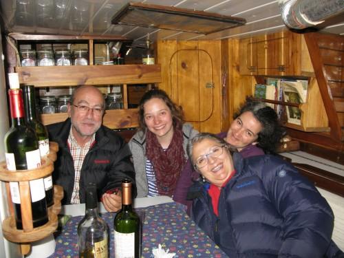 Velada de despedida en el PIC' LA LUNE, con Sonia y Caroline