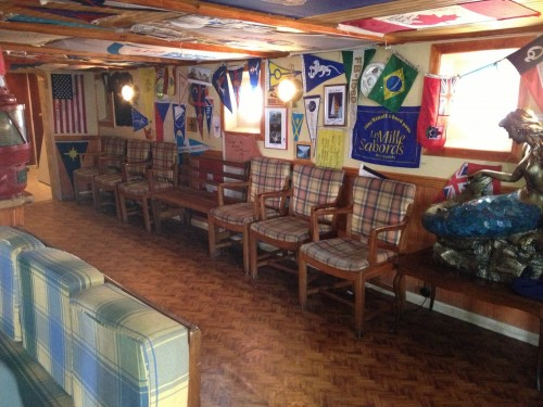 Bar del MICALVI, un día por la mañana