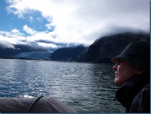 08 de camino al glaciar